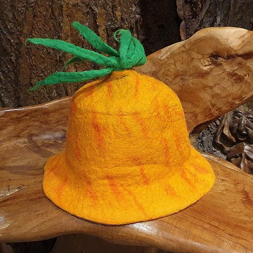 pineapple flower duo hat felt bloemenhoed vilten hoedje bloemmodel bloemvormig bloem