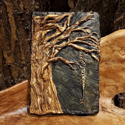 Tree of sectrets notebook journal fantasy forest notitieboek dagboek diary