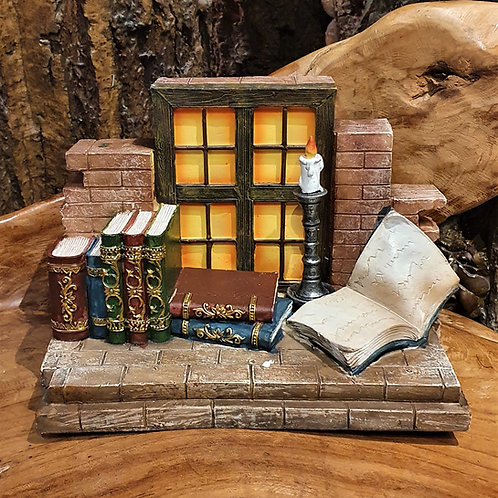 Cosy house miniatures display