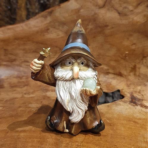 Spell caster wizard figurine gandalf funny tovenaar tovenaartje beeldje fantasie fantasy shop