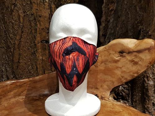 face mask non medical gezichtsmasker medisch horror pumpkin pompoen halloween