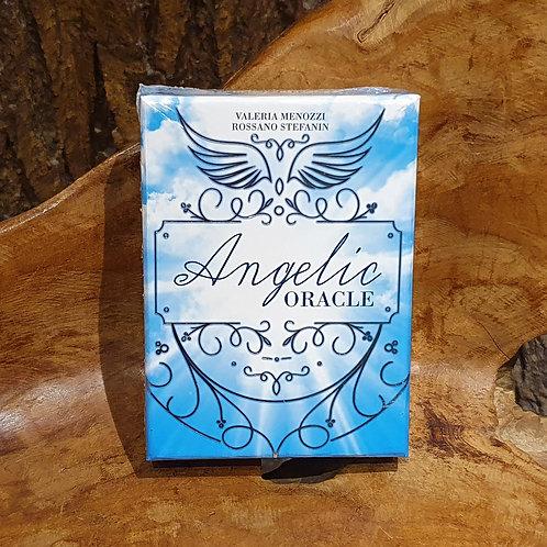 32-card Angels Oracle deck angelic orakelkaarten voorspellen dagelijks  advies