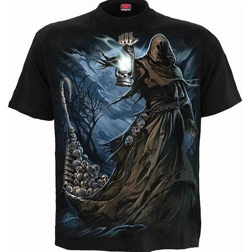 ferryman tshirt spiral reaper skulls metal tribal fantasy anne stokes design alternatieve kleding