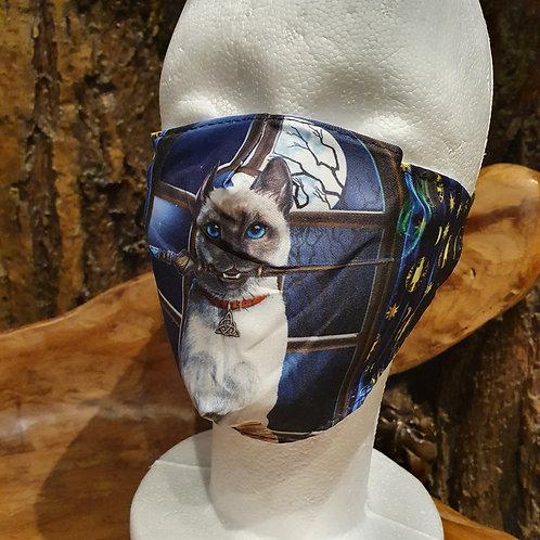 Hocus Pocus Cat face mask