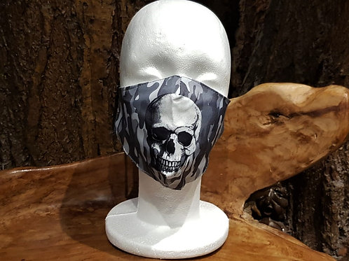 face mask non medical gezichtsmasker medisch horror schedel skull gothic