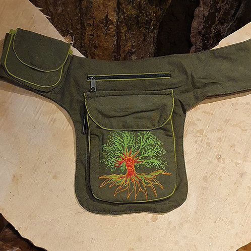 Tree of life Belt Pouch