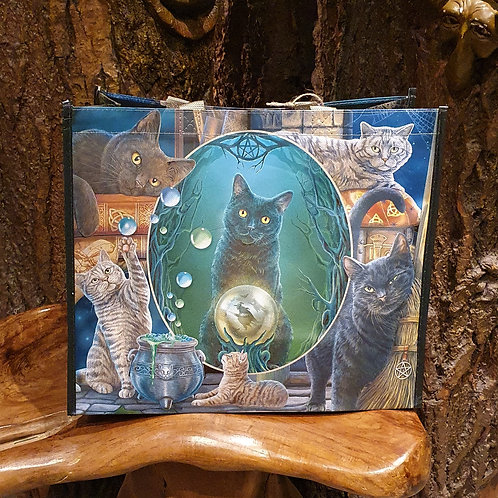 Witchy Cats Shopper