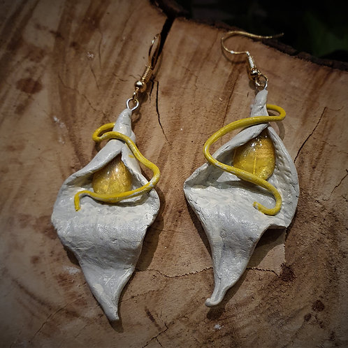 Fairy leaf Rivendel Earrings