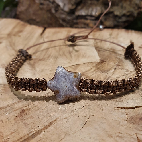 Star knotted stacking bracelet