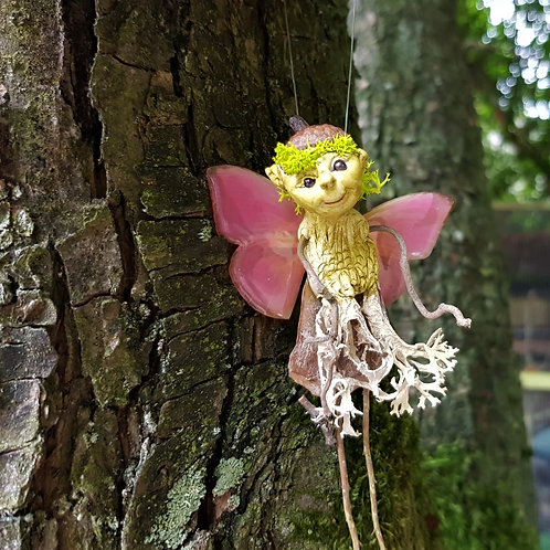 Twigeline Fairy ooak little fantasy whimsicle creature