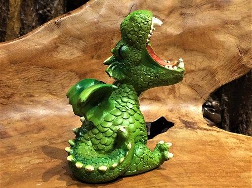 yawn yawning cute dragon figurine beeldje schattig gapend draakje geeuwen