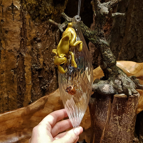 Kreeper Fairy World Glass Drop Decoration