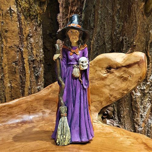Selma friendly witch figurine heks beeld heksenbeeldje vriendelijk fantasy fantasie