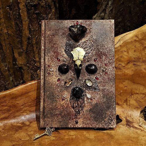 shadow raven book of shadows journal notitieboek spells magisch magical harry potter