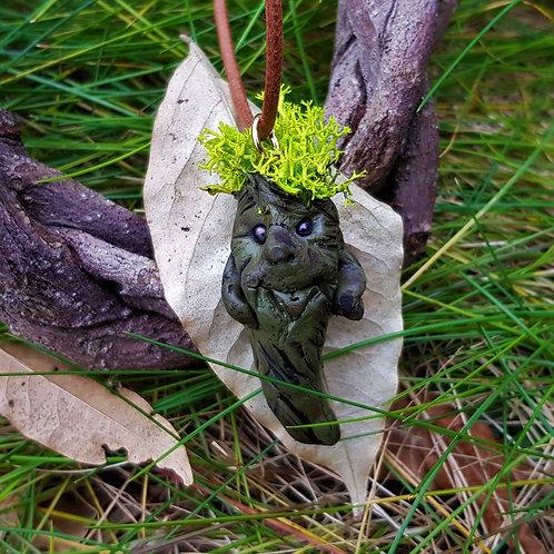 root baby mandrake harry potter necklace hanger ketting alruin good fortune