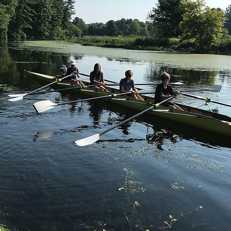 Summer Row camp starts today!