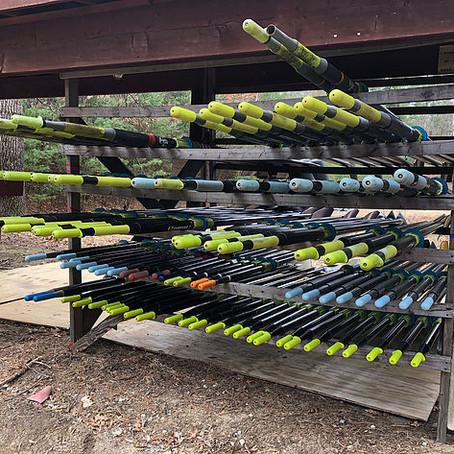 New Sculling Oars