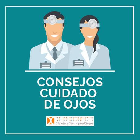Consejos para el cuidado de ojos