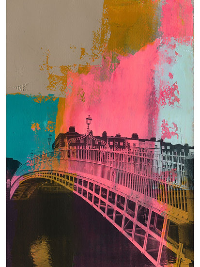Ha'penny Bridge 1 - Limited Edition Print from €60