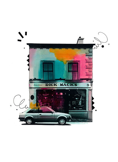 Dick Mack's, Dingle 2 - Limited Edition Print from €60