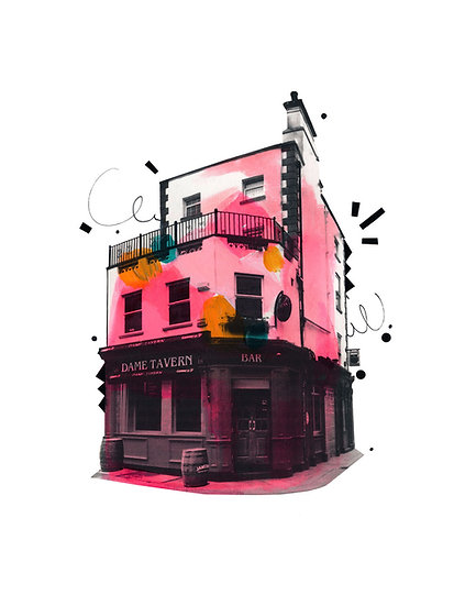 Dame Tavern - Limited Edition Print from €60