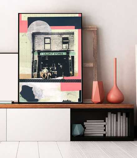 Lilliput stores - Limited Edition Print of 30