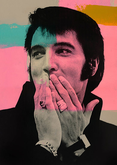 Elvis - Limited Edition Print from €60