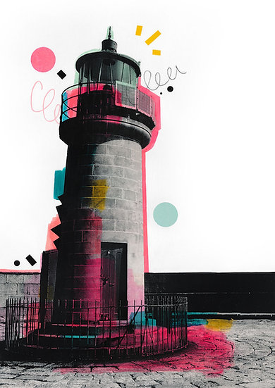 Dun Laoghaire Lighthouse - Limited Edition Print of 50