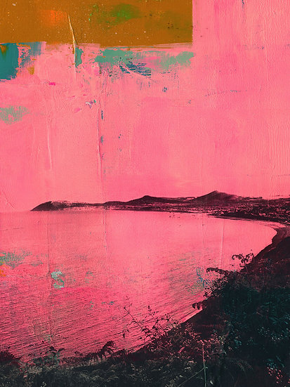 Killiney Strand - Limited Edition Print from €60