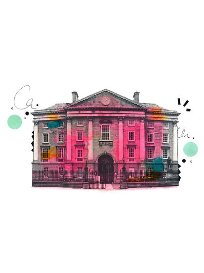 Trinity College Dublin - Limited Edition Print from €60