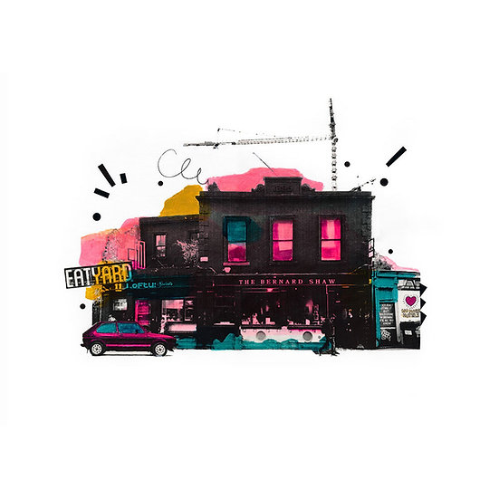 The Bernard Shaw 3 - Limited Edition Print from €60