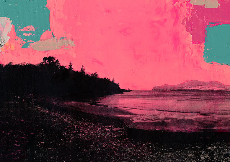 Glanleam 2 - Original Framed Painting