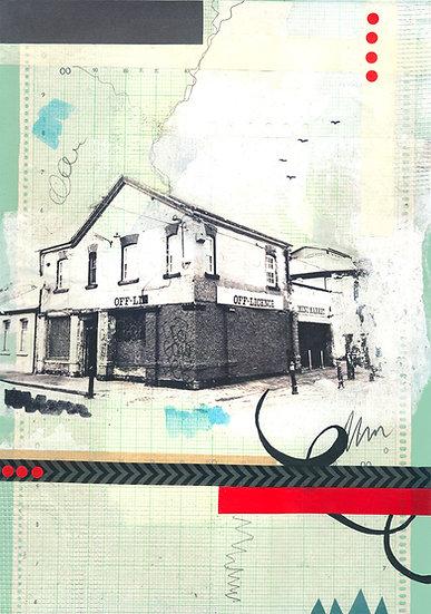Mini Market  - Limited Edition Print