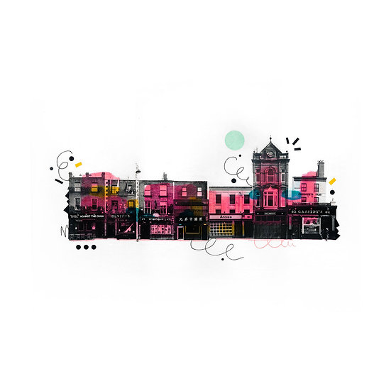 Camden Street - Limited Edition Print of 30
