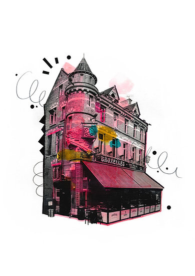 Bruxelles - Limited Edition Print from €60