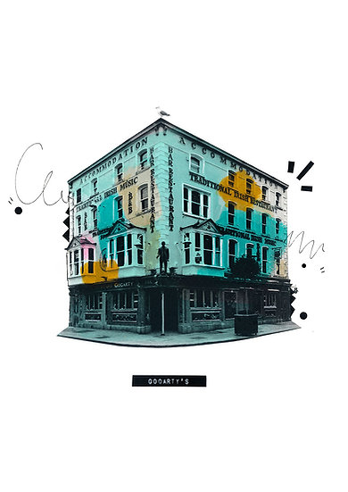 Gogarty's Temple Bar  - Limited Edition Print from €60