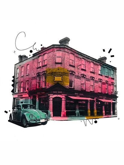 The Dice Bar 2  - Limited Edition Print from €60