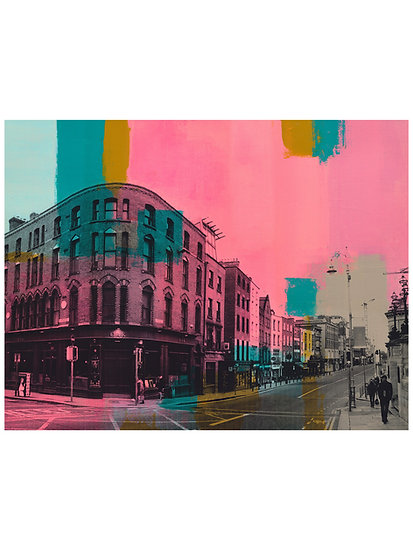 The Oak, Dame Street 1 - Limited Edition Print from €60