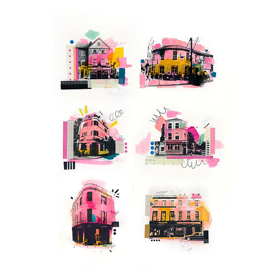 Cork Pubs - Limited Edition Print of 30