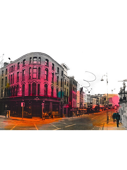 The Oak, Dame Street  2 - Limited Edition Print from €60