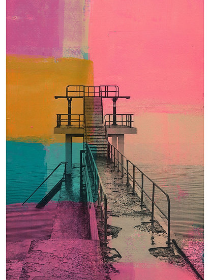 Blackrock Diving Tower, Salthill, Galway - Limited Edition Print from €60