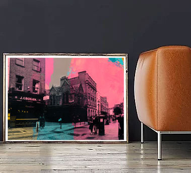 South William Street - Original Framed Painting