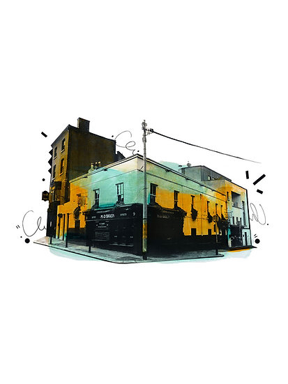 O'Briens of Leeson Street 2 - Limited Edition Print from €60