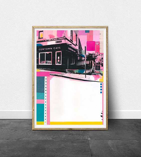 Cowtown - Limited Edition Print of 10
