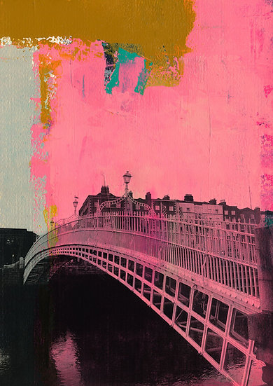 Ha'penny Bridge 2 - Limited Edition Print from €60