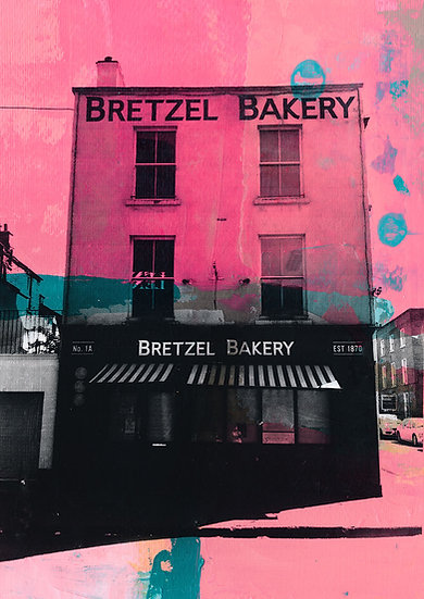 Bretzel Bakery - Limited Edition Print from €60