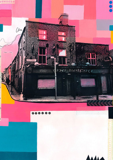 The Belfry Stoneybatter - Limited Edition Print of 10