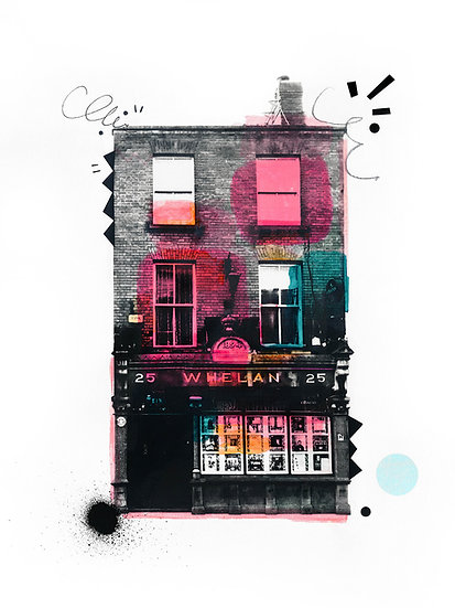 Whelans 2 - Limited Edition Print from €60