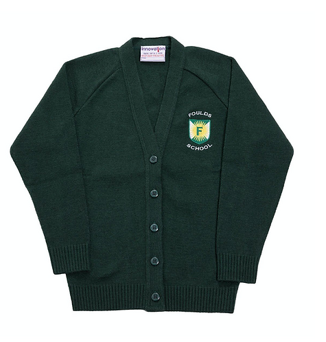 Foulds School Cardigan (Premium Acrylic)