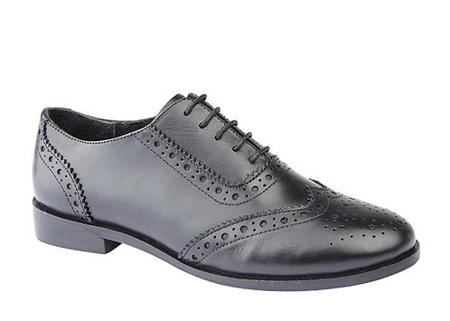 Ladies Brogue Oxford Shoes